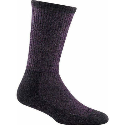 Darn Tough Nomad Boot Full Cushion Womens Socks Small / Plum