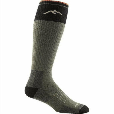 Darn Tough Hunter OTC Extra Cushion Mens Socks Small / Forest