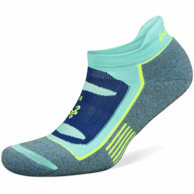 Balega Blister Resist No Show Socks - Small / Ethereal Blue/Light Aqua