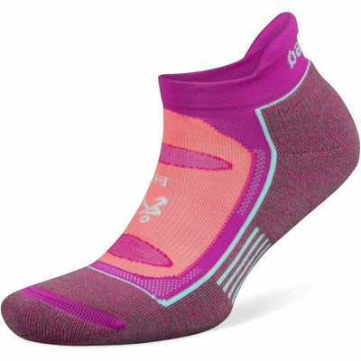 Balega Blister Resist No Show Socks - Small / Lilac Rose/Electric Pink