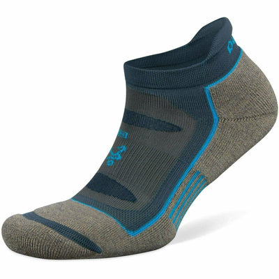 Balega Blister Resist No Show Socks - Small / Mink/Legion Blue