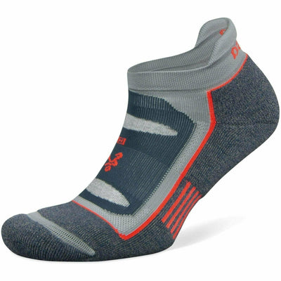 Balega Blister Resist No Show Socks - Small / Legion Blue/Grey