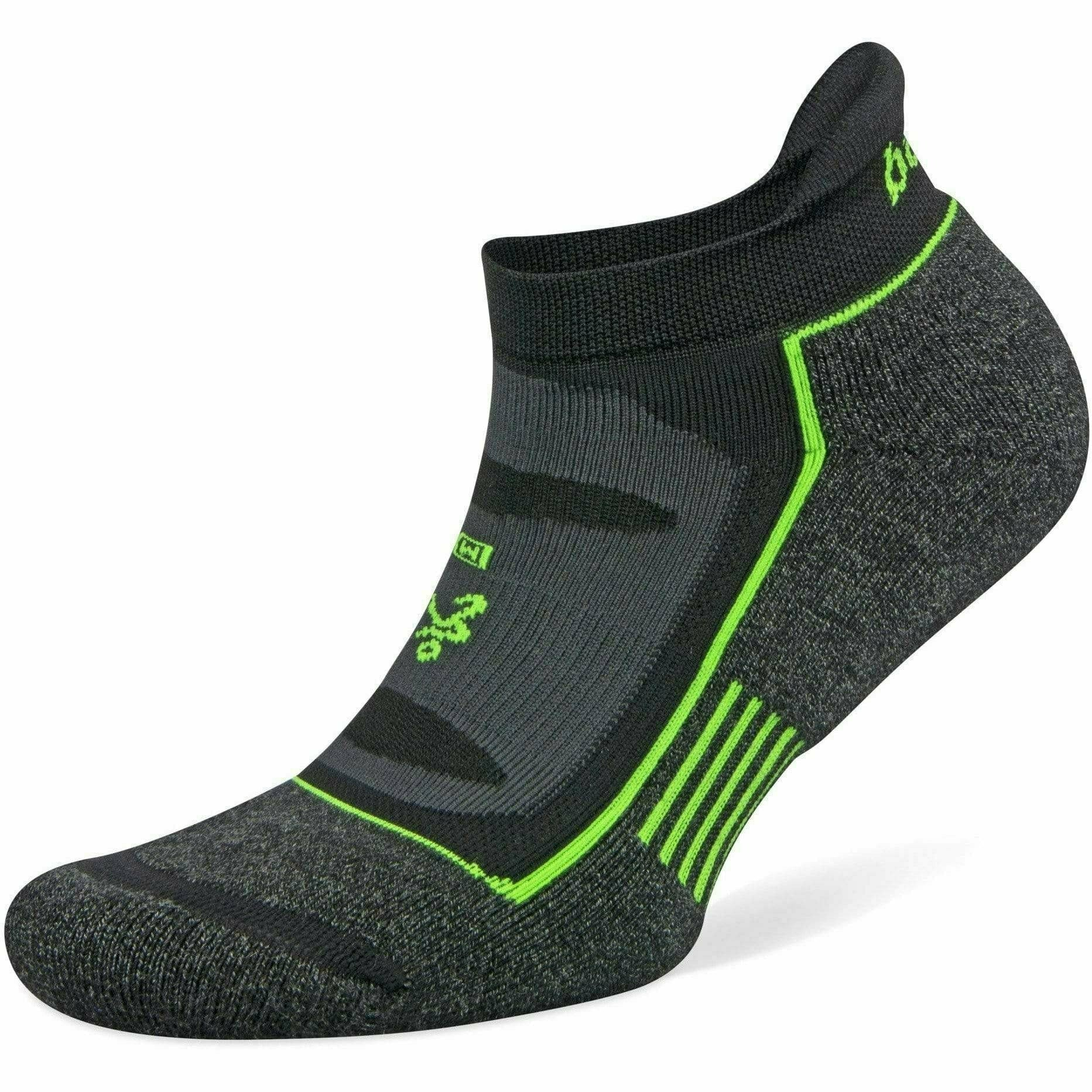 Balega Blister Resist No Show Socks Small / Charcoal/Black