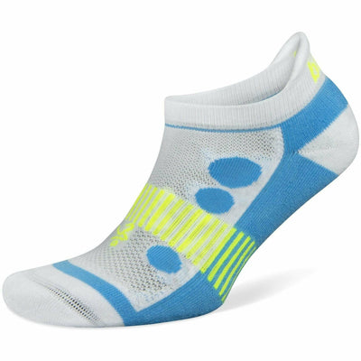 Balega Hidden Cool Kids Socks - Medium / White/Blue