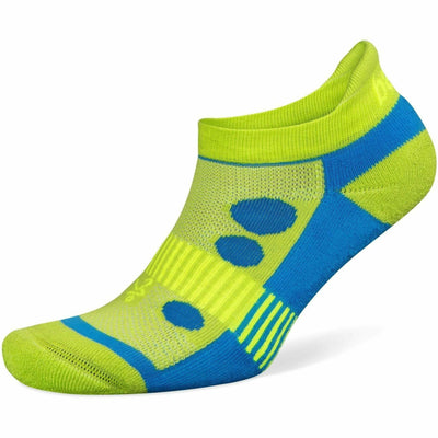 Balega Hidden Cool Kids Socks - Medium / Lime/Turquoise