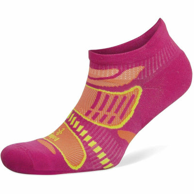Balega Ultra Light No Show Socks Small / Electric Pink/Tangerine / Current