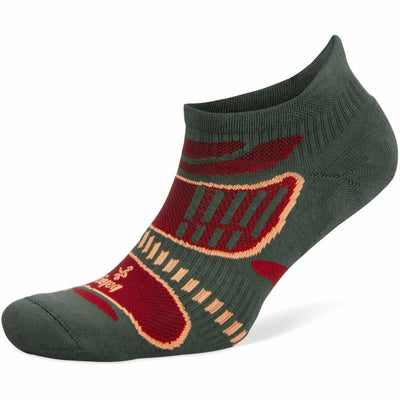 Balega Ultra Light No Show Socks Small / Aloe/Red / Current