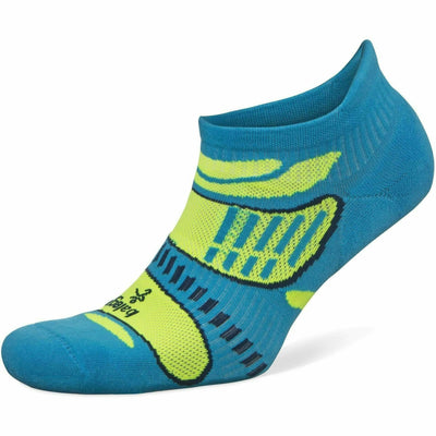 Balega Ultra Light No Show Socks Small / French Blue/Lime / Current