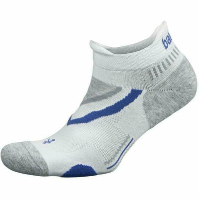 Balega UltraGlide No Show Socks Small / White/Midgrey
