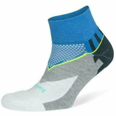 Balega Enduro Quarter Socks Small / Ethereal Blue/White