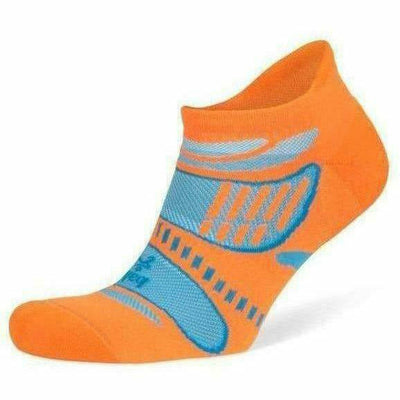 Balega Ultra Light No Show Socks Small / Fluorescent Orange / Current