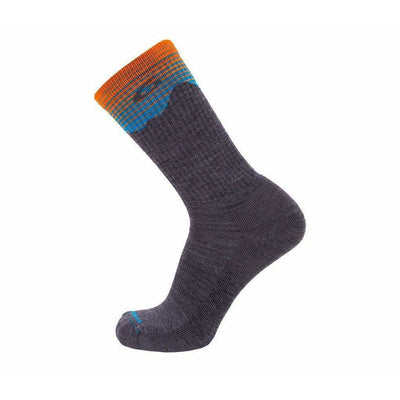 Point6 37.5 Peak Light Crews Socks Medium / Gray