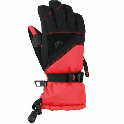 Gordini Stomp III Junior Gloves - X-Small / Black/Fire Engine Red