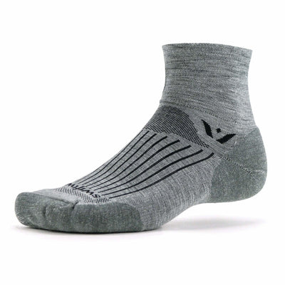 Swiftwick Pursuit Two Medium Socks Medium / Heather