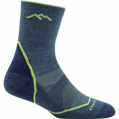 Darn Tough Micro Crew Light Hiker Jr Light Cushion Hiking Socks - Small / Denim