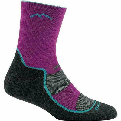 Darn Tough Micro Crew Light Hiker Jr Light Cushion Hiking Socks Small / Clover