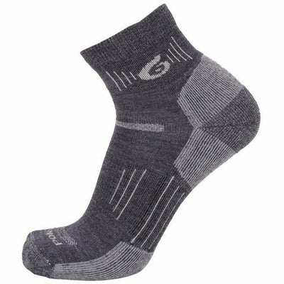 Point6 Hiking 37.5 Light Mini Crew Socks Medium / Gray