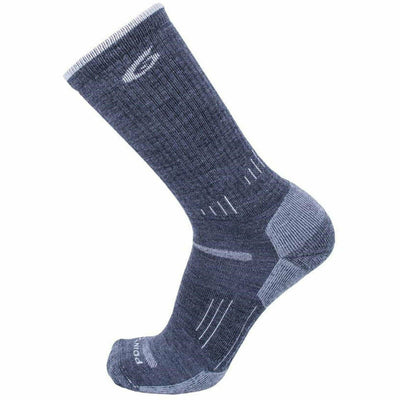 Point6 Hiking 37.5 Medium Crew Socks - Medium / Gray
