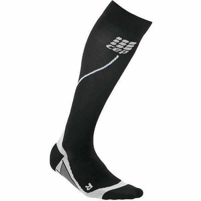 CEP Mens Progressive Run Socks 2.0 - 3 / Black/Gray