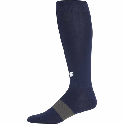 Under Armour Soccer OTC Socks - Youth Large / Midnight Navy