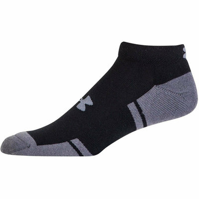 Under Armour Resistor 3 Lo-Cut Socks - Youth Large / Black/Graphite