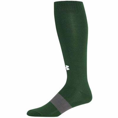 Under Armour Soccer OTC Socks - Youth Large / Forest Green