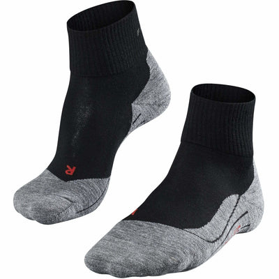 Falke TK5 Mens Trekking Short Socks - Small/Medium / Black-Mix