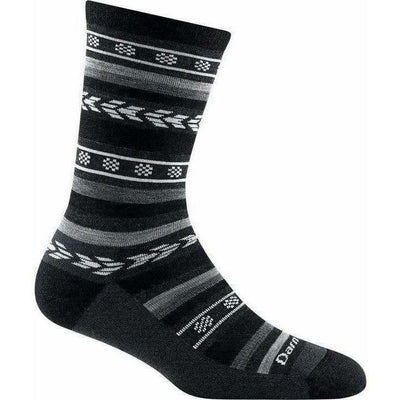 Darn Tough Bronwyn Crew Light Cushion Womens Socks Small / Black