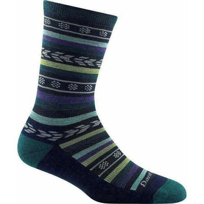 Darn Tough Bronwyn Crew Light Cushion Womens Socks Small / Dark Teal