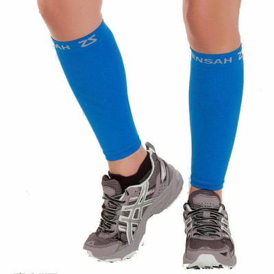 Zensah Compression Leg Sleeves Small/Medium / Blue