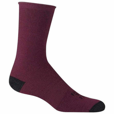 Farm to Feet Arlington Ultralight Crew Socks - Small / Plum