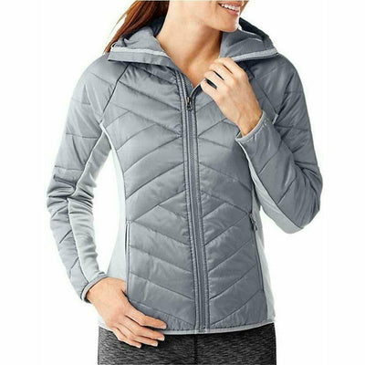 Smartwool Womens Double Corbet 120 Hoodie - Small / Silver