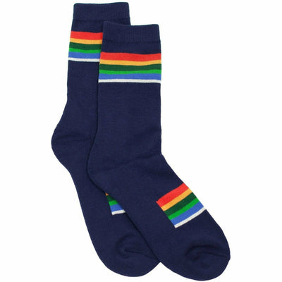 Pendleton National Park Striped Crew Socks Medium / Crater Lake / Single Pair
