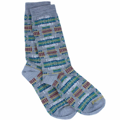 Pendleton Chief Joseph Crew Socks Medium / Grey