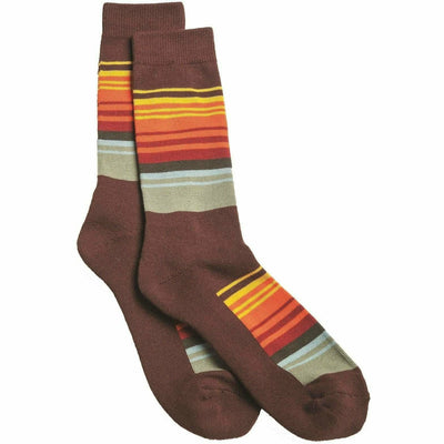 Pendleton National Park Striped Crew Socks Medium / Smokey Mountains / Single Pair