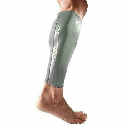 McDavid Reflective Compression Calf Sleeve Small / Ultra Silver