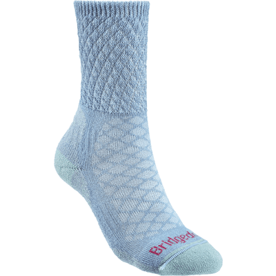 Bridgedale Womens Hike Lightweight Comfort Boot Socks - Small / Powder Blue