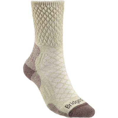 Bridgedale Womens Hike Lightweight Comfort Boot Socks - Small / Sand
