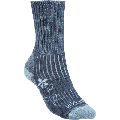Bridgedale Womens Hike Midweight Comfort Boot Socks - Small / Blue