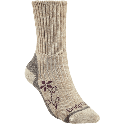 Bridgedale Womens Hike Midweight Comfort Boot Socks - Small / Natural