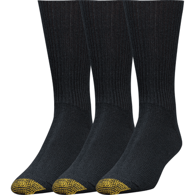 Gold Toe Fluffies Casual Socks - Extended / Black