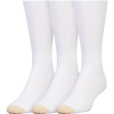 Gold Toe Fluffies Casual Socks Regular / White