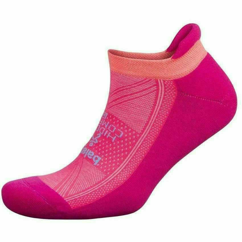 Balega Hidden Comfort Socks - Small / Electric Pink/Sherbet Pink