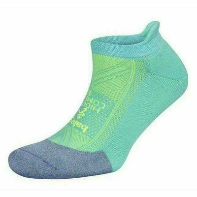 Balega Hidden Comfort Socks - Small / Lilac/Neon Aqua