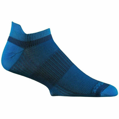 Wrightsock Double-Layer Coolmesh II Lightweight Tab Socks Small / Royal/Electric Blue / Single Pair