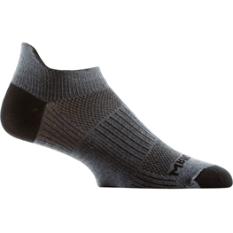 Wrightsock Double-Layer Coolmesh II Lightweight Tab Socks Small / Grey / Single Pair