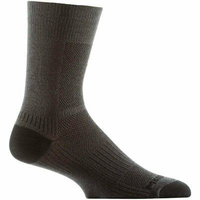 Wrightsock Double-Layer Coolmesh II Lightweight Crew Socks - Small / Ash / Single Pair