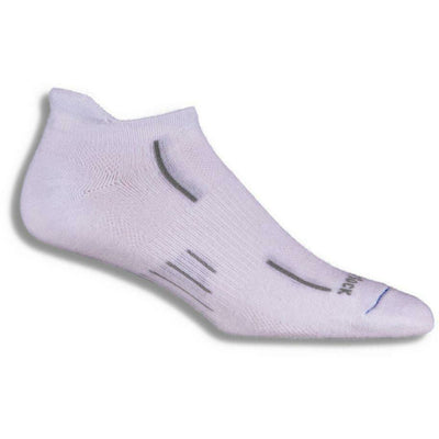 Wrightsock Stride Tab Socks Small / White
