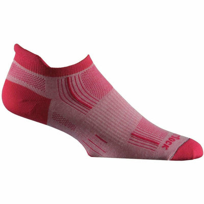 Wrightsock Stride Tab Socks - Small / Beet Root