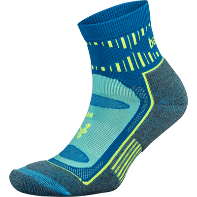 Balega Blister Resist Quarter Crew Socks - Small / Ethereal Blue